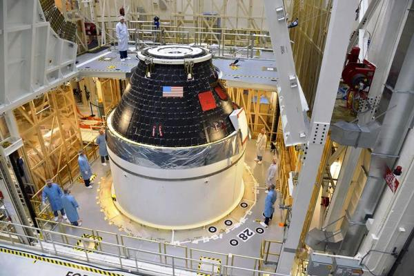 NASA's first Orion crew capsule ready for flight ...