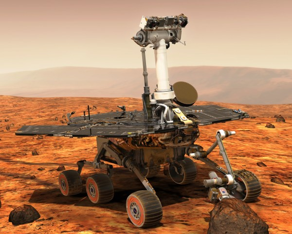 Our Spaceflight Heritage Opportunity rover marks 13 years