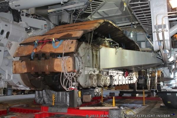 Crawler transporter 2 upgraded in preparation for SLS