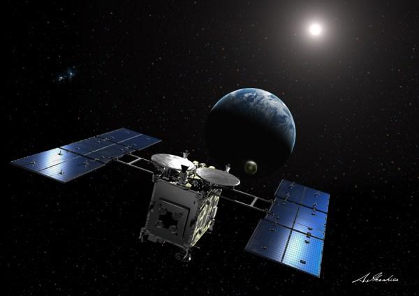 "JAXA's Hayabusa 2 in ""good health"" en route to asteroid ..."
