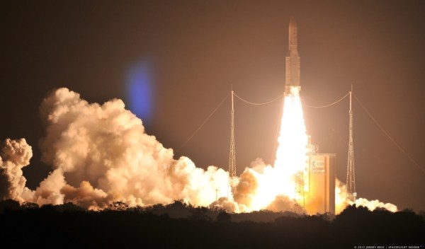 Arianespace successfully launches ARABSAT-6B and GSAT-15 ...