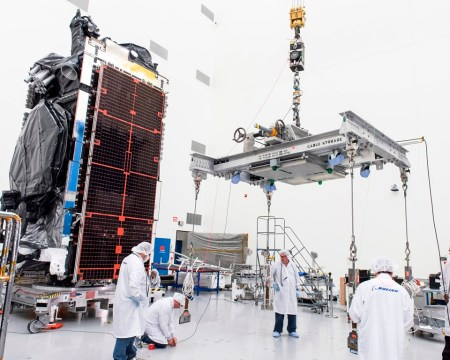 Intelsat 29e as seen before its launch in January 2016. Photo credit: Boeing