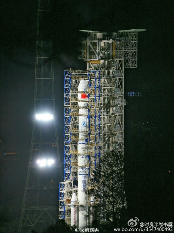 Long March 3C launches fourth Tianlian-1 communications ...