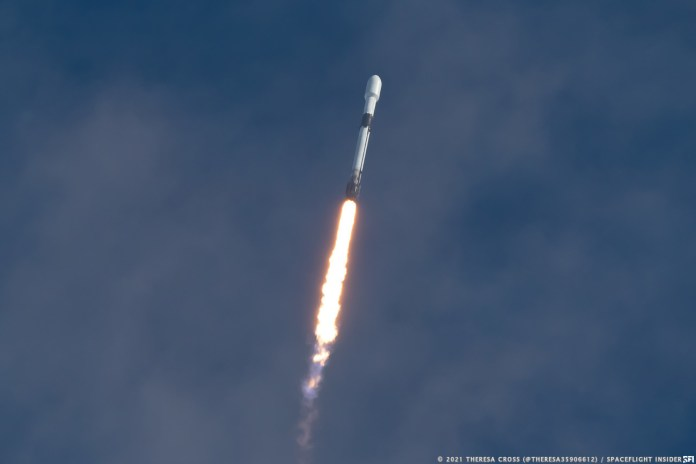 SpaceX launched its first dedicated rideshare mission, Transporter-1, on Jan. 24, 2021. In early 2022, another rideshare mission is expected to include the DOGE-1 CubeSat. Credit: Theresa Cross / Spaceflight Insider