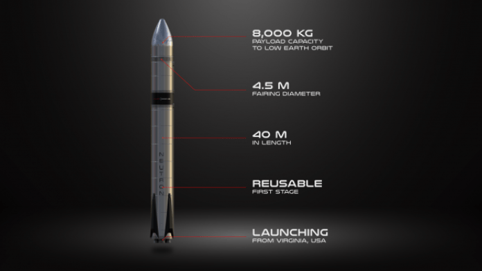 A render of what Rocket Lab expects its Neutron rocket to look like compared with its Electron rocket. Credit: Rocket Lab