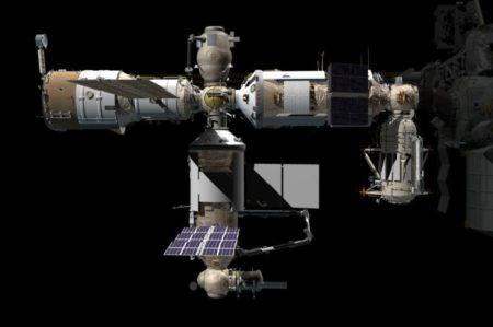 Nauka बहुउद्देशीय प्रयोगशाला मॉड्यूल जुलाई 2021 के शुरू में लॉन्च करने के लिए तैयार है। क्रेडिट: NASA