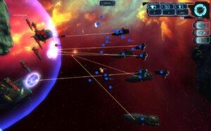 A big battle in Gemini Wars.