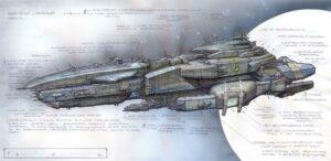Nexus 2 Concept Human Battleship