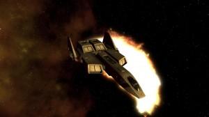 Excalibur Screenshot from Wing Commander Saga