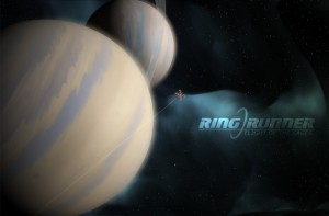 Ring Runner Procedurally Generated Background