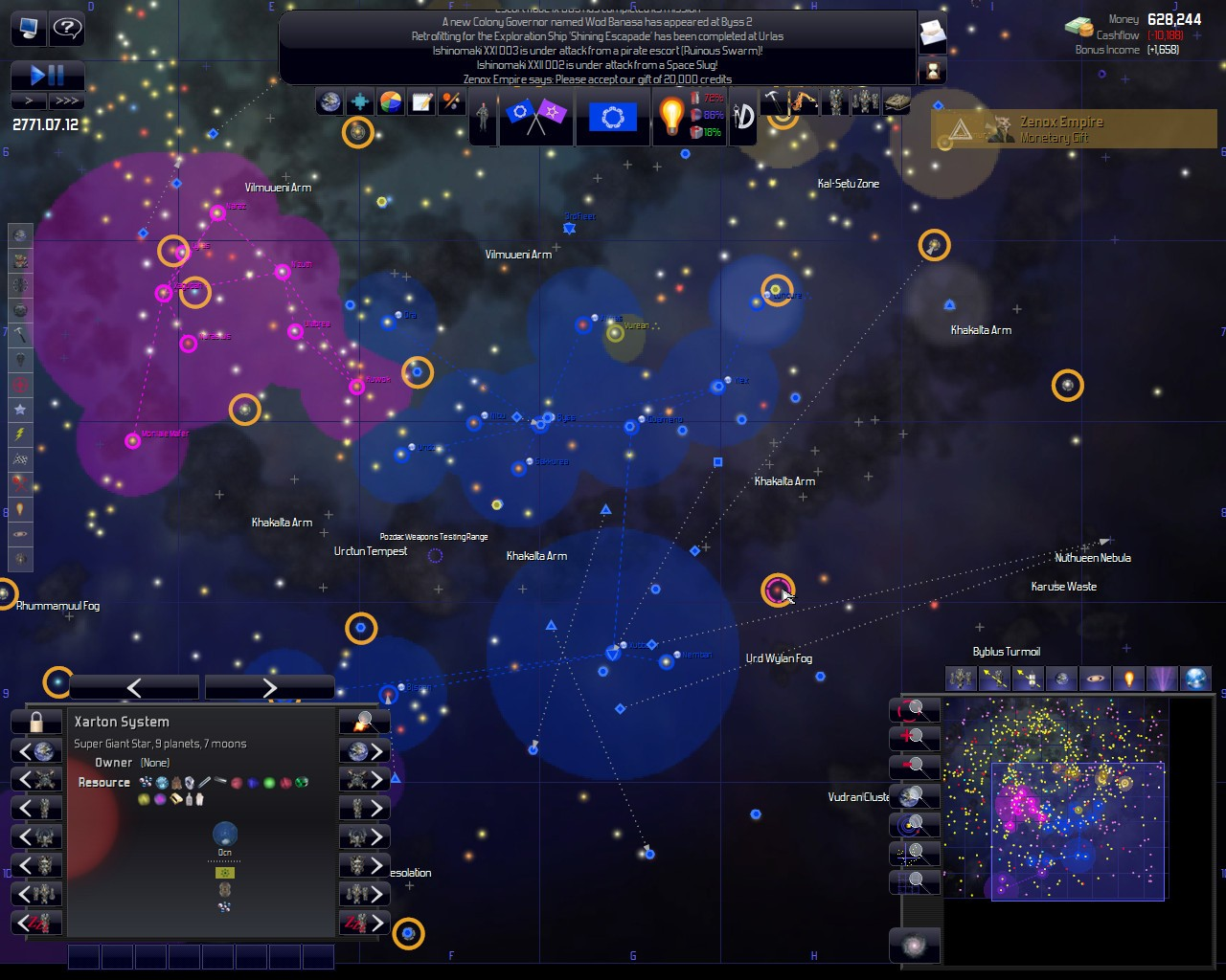 Spacing Out: Procedural Generation Gets Me Hot | Space Game