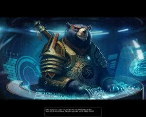 1 - Space Bear!!