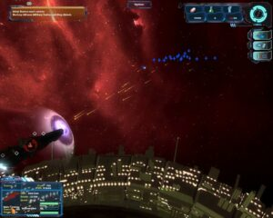27 - Fleet Attacks Enemy Cruiser