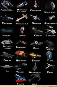 Spaceship A-Z List