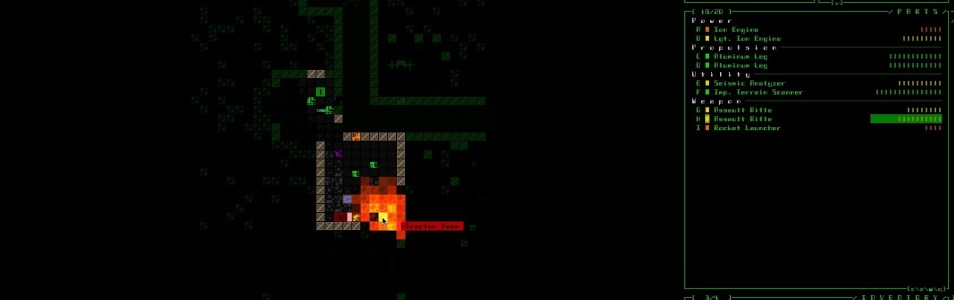 Down to Earth – Cogmind – A Fascinating Robotic Roguelike