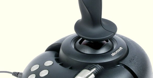 The Right Tool for the Job: An Ode to Microsoft's Force Feedback 2 Joystick