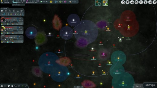 Space 4X, Strategy & Simulation Game Previews