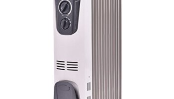 73ba7a77f63 Tangkula Electric Oil Filled Radiator Heater Portable Home Room Radiant Heat  5.7 Fin Thermostat 1500w