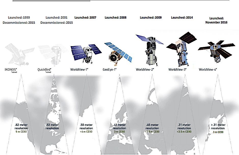 DigitalGlobe: US government exercises option, WorldView-4 draws commercial customers