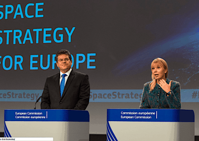 Europe's space industry to EU: Can we talk about your new space policy?