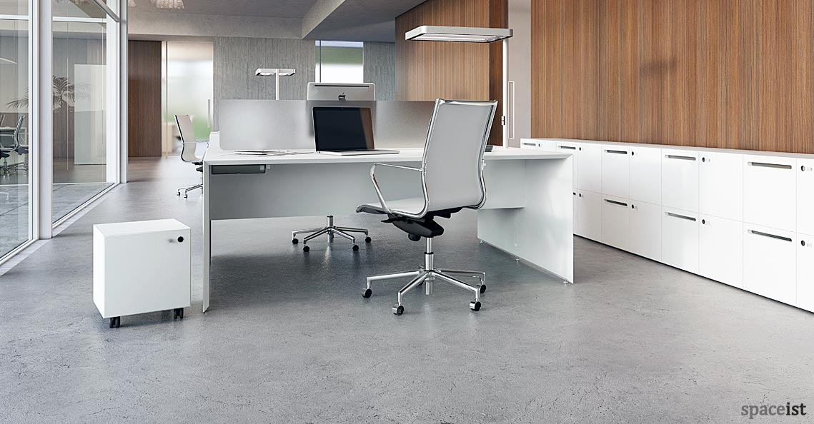 Forty5 Office Desk For 2 People Spaceist