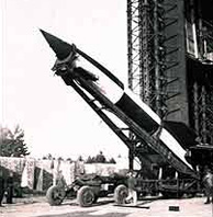 The V2 Rocket, first to reach space.