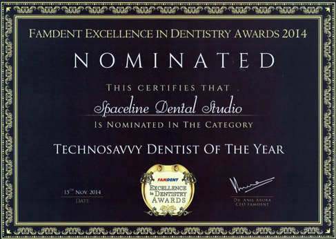 Best Dentist in Mumbai Award
