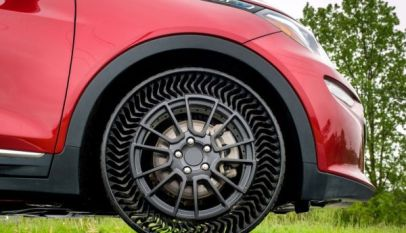 airless tire michelin general motors