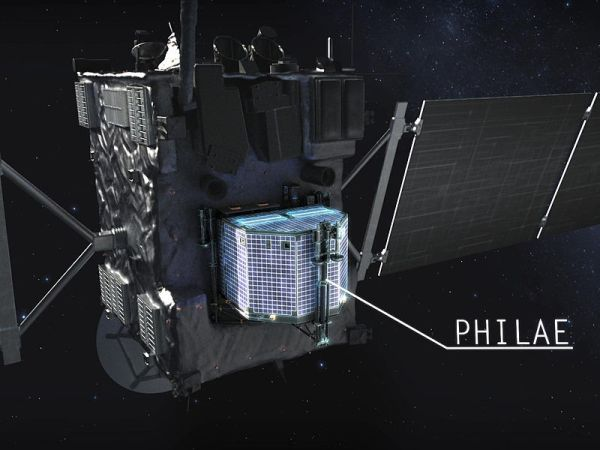 Rosetta Mission – First To Orbit & Land On A Comet ...