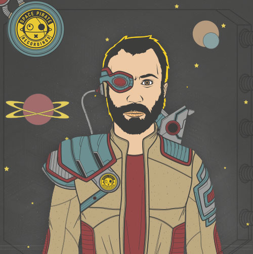 Space Pirate Portrait
