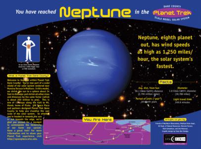 UW Space Place Planet Trek Dane County Posters