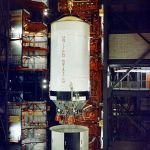 S-II during stacking operations in the VAB