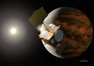 """Japan's Venus Climate Orbiter """"Akatsuki"""", Source: Akihiro Ikeshita/JAXA"""