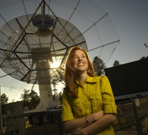 Assistant Professor Sigrid Close won the Hellman Fellowship to pursue her research on the electromagnetic effects of hypervelocity impacts (Credits: Hellman fellows Program).