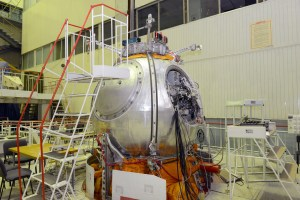 The Bion M1 capsule (Credits:  Russian Federal Space Agency).