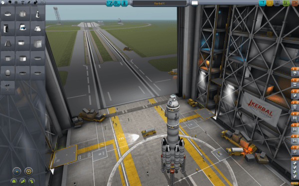 Kerbal rocket assembler facility