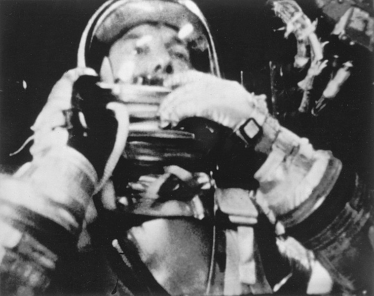 Alan Shepard, the first American in space had to urinate into his suit.