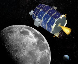 LADEE probe will investigate thin lunar atmosphere and perform laser communications tests (Credits: NASA).