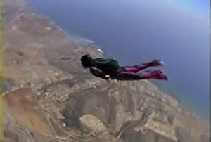Skydiving over Pyla Cyprus by Josephine Dorado