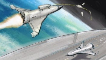 Artist's concept of the XS-1 (Credits: DARPA).