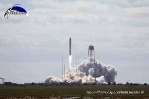 With the successful launch of the first Cygnus spacecraft and subsequent launch to the International Space Station, the COTS program has come to a close. Both companies are now working under NASA's Commercial Resupply Services contract (Credits: Jason Rhian / SpaceFlight Insider).