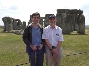Dr. Attila Komjathy -Jet Propulsion Laboratory (Left) & Dr. Richard - University of New Brunswick Langley (Right)