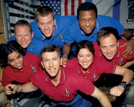Taken during STS-107, this crew photograph was only developed after the Columbia disaster