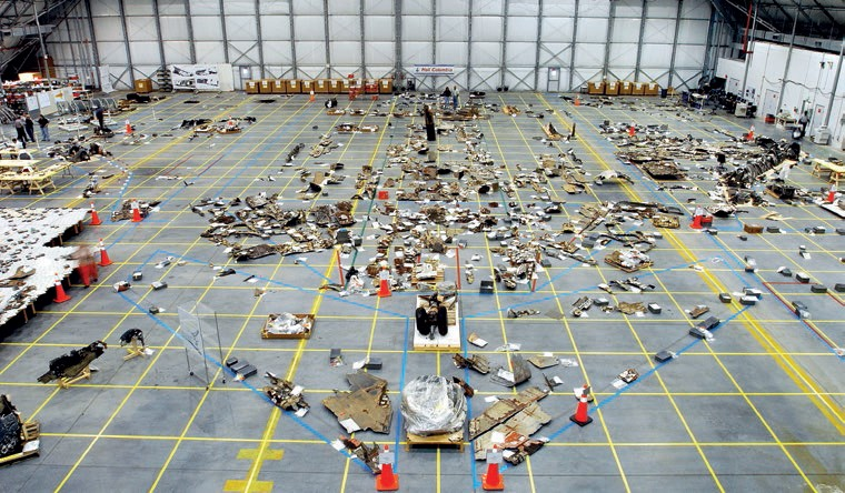 Columbia debris reconstruction