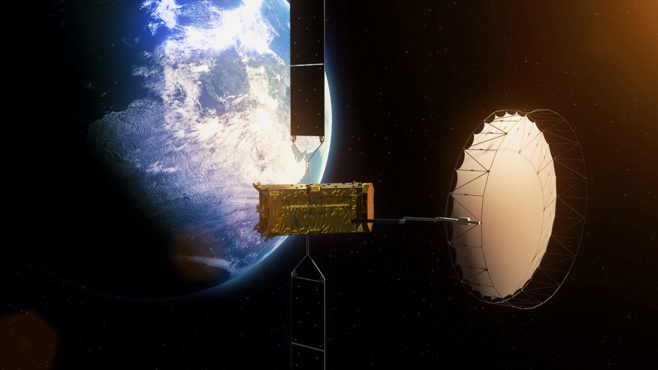Alphasat, Inmarsat's new satellite.
