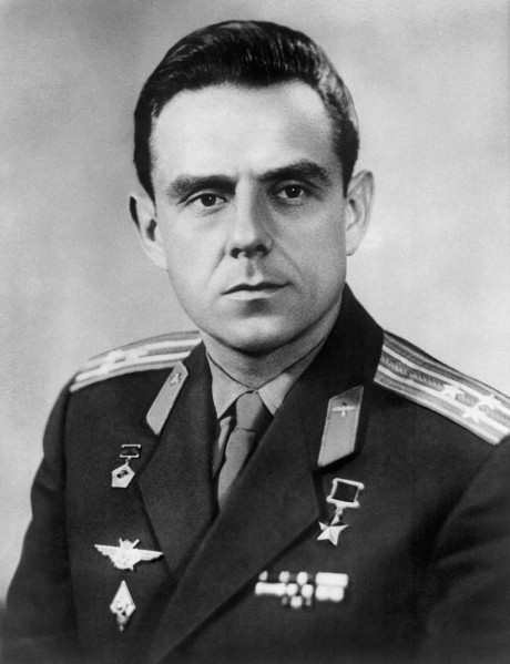 Cosmonaut Vladimir Komarov 's official portrait