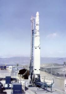 The Thor Agena rocket