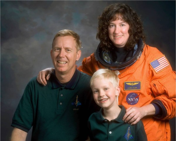 Jonathan Clark, with his wife Laurel and their son Iain. - Photo Courtesy: Jonathan Clark.