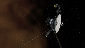 Artist's concept shows the Voyager 1 spacecraft entering the space between stars -Credits: NASA