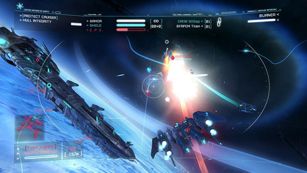 A List of Sci Fi Space Games You Can t Miss In 2013   SpaceSector com Strike Suit Zero   Space combat